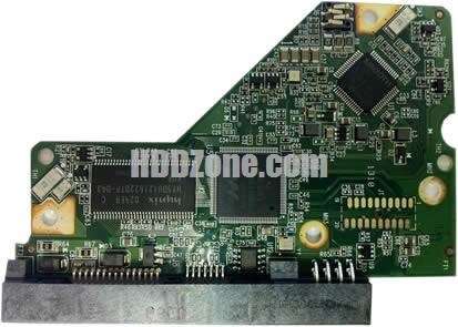 2060-771702-001 WD Harddisk Printplade