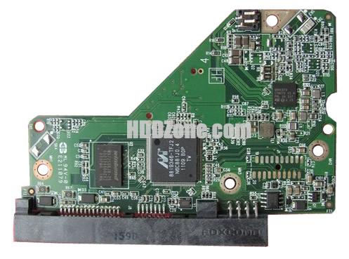 2060-771824-000 WD Harddisk Printplade