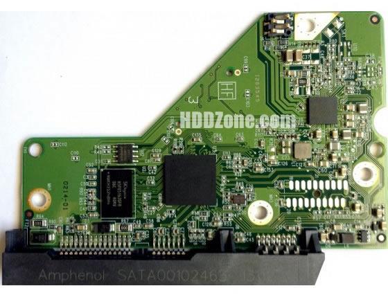 2060-771829-005 WD Harddisk Printplade