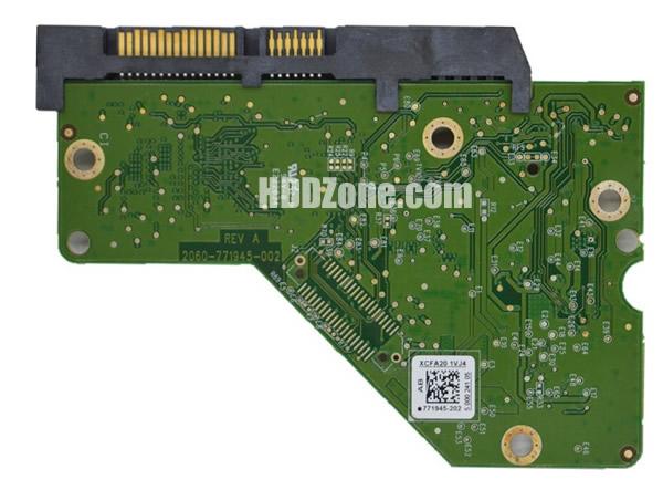 2060-771945-002 WD Harddisk Printplade
