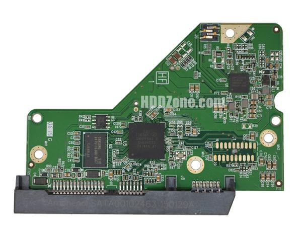 2060-800006-001 WD Harddisk Printplade
